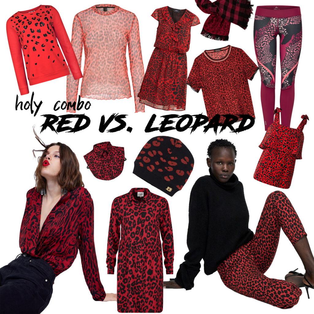 Red vs leopard